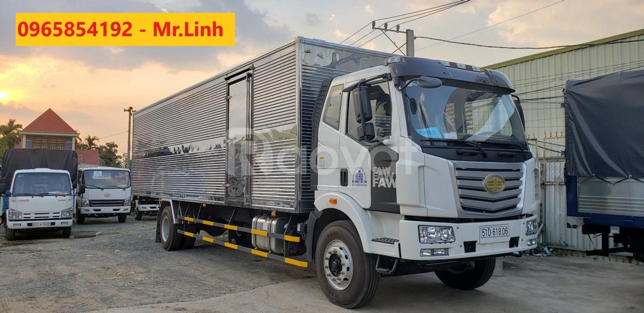 Mua xe tải Faw 7.25 tấn thùng bạt dài 9.bạt giá 250 triệu