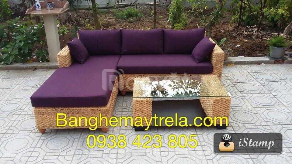 Bàn ghế sofa lục bình