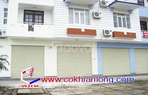 Cửa cuốn Đài Loan chất lượng  phổ biến tại Tp.HCM
