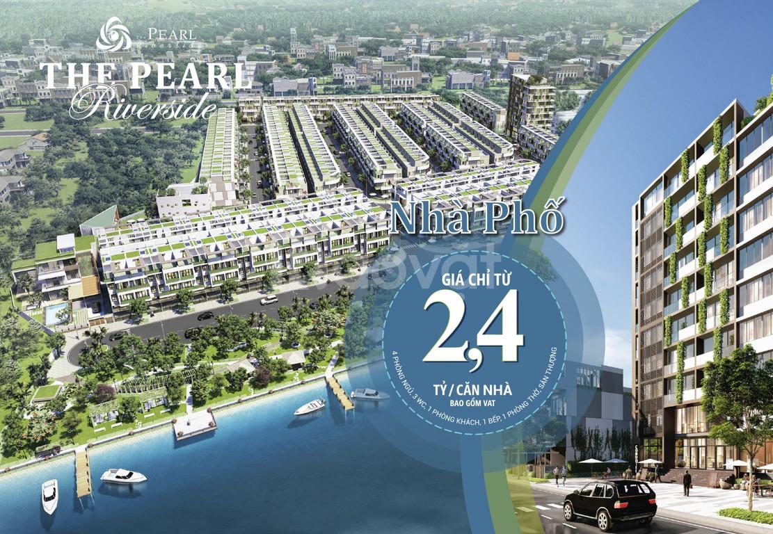 Bán nhà mặt sông Vàm Cỏ Đông chỉ 2,4 tỷ/căn.  (ảnh 7)