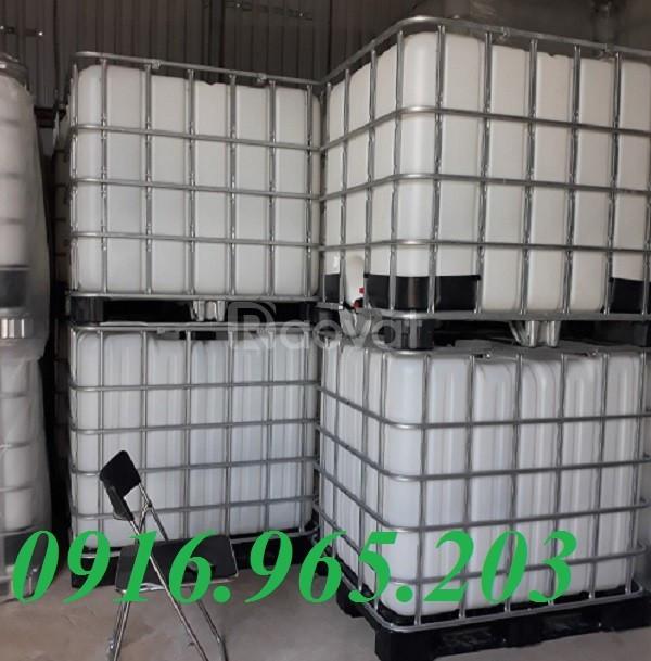 Giảm giá thùng nhựa đựng hóa chất 1000l