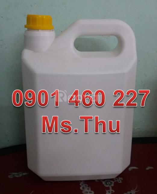 Mua can nhựa đựng hóa chất, bình nhựa đựng hóa chất,can 5 lít TPHCM