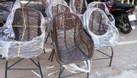 Ghế mây chân sắt, ghế mây cafe (ảnh 3)