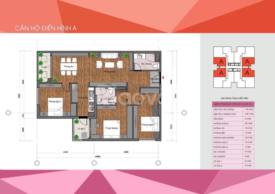 Nhanh tay sở hữu căn hộ hạng sang The Legacy, giá chỉ từ 32 triệu/m2
