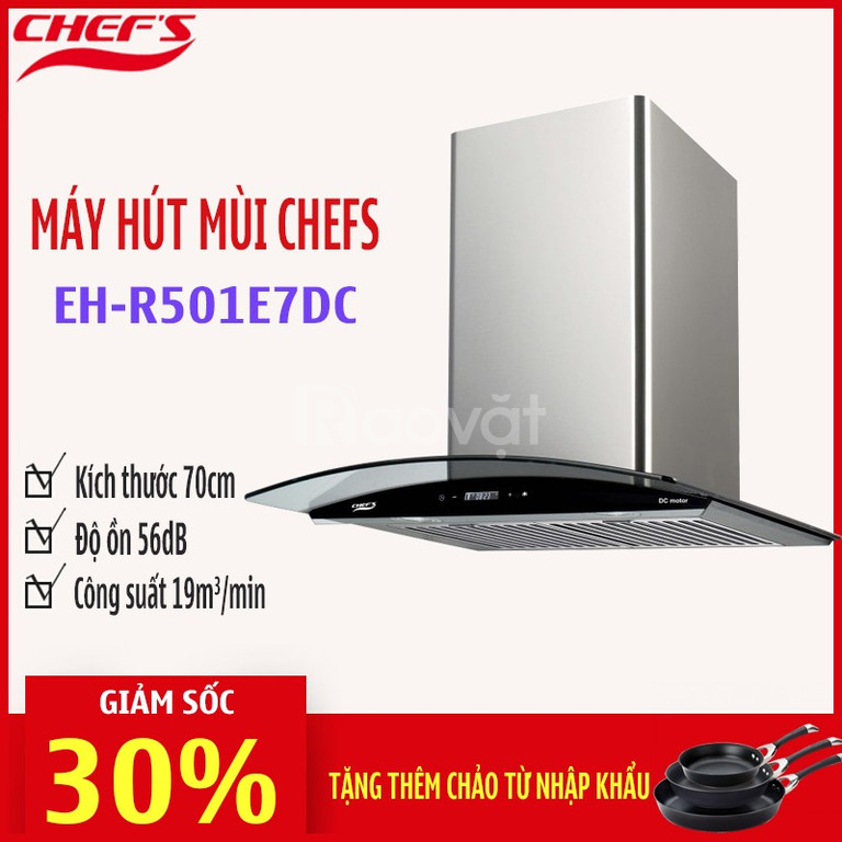 Hút mùi Chefs- Một phần không thể thiếu của căn bếp hiện đại