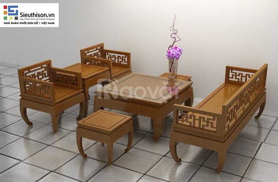 Mở đại lý sơn gỗ tinh màu sơn gỗ chất lượng cao (ảnh 6)