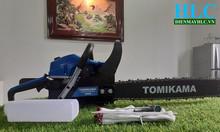 Máy cưa xích chạy xăng, cưa gỗ cầm tay Tomikama 5900