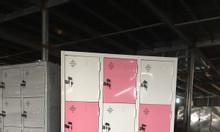 Tủ locker 15 ngăn để đồ cá nhân.