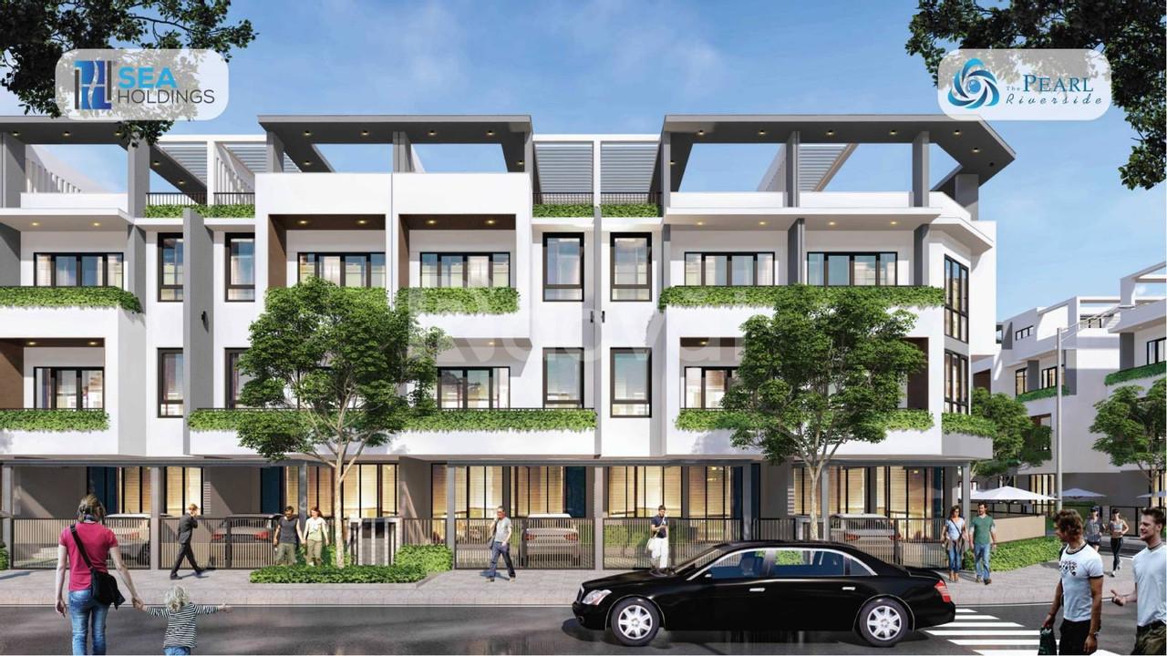 Bán nhà giáp sông Vàm Cỏ Đông, đường Nguyễn Văn Tuôi, 2,4 tỷ/căn