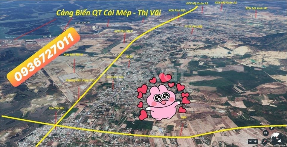 Bán đất ngay KDL núi Dinh, SHR sang tên ngay 24H