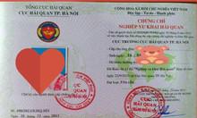 Mở lớp khai hải quan điện tử tại Hà Nội, Bắc Ninh