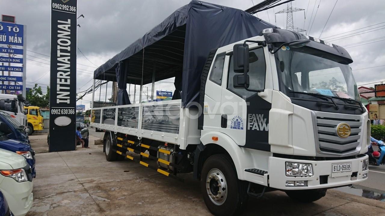 Xe tải Faw 7T25 thùng dài 9m7