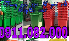 Phân phối thùng rác 240 lít giá rẻ tại đồng tháp- thùng rác 120 lít 66