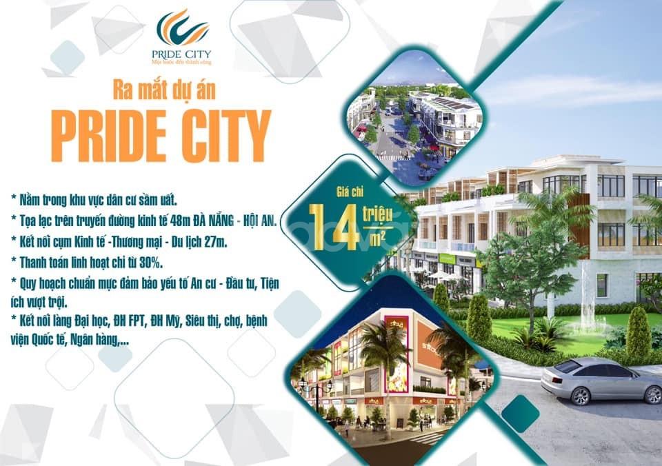 Pride City -  Sức nóng từ bất động sản đến từ phía Nam Đà Nẵng