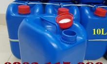 Can đựng hóa chất 10L, can đựng hóa chất nặng, can nhựa HDPE
