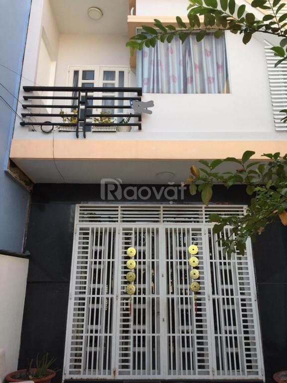 Bán nhà 2 lầu đường nhựa xe hơi 7m Đào Sư Tích, Xã Phước Lộc-Nhà Bè