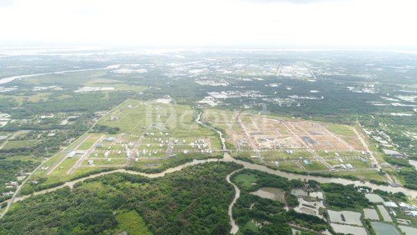 Đất T&T Long Hậu 100m² mặt tiền liên ấp 1-3