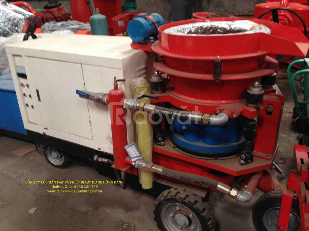 Bán máy phun vẩy bê tông PZ5, HSP7 hàng nhập