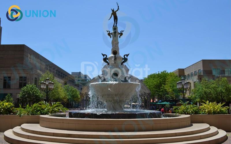 Union nhận thiết kế xây dựng đài phun nước nghệ thuật trên toàn quốc