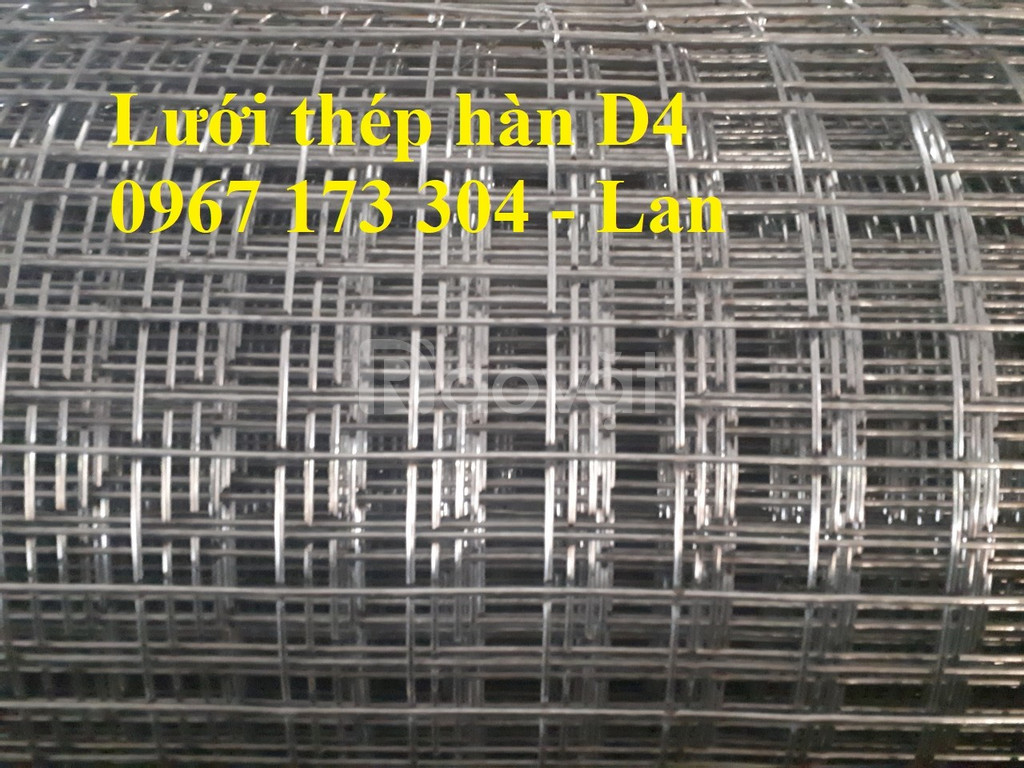 Lưới thép hàn mạ kẽm dây 2, dây 2.5, dây 3, dây 4,... mắt 50*50 giá rẻ
