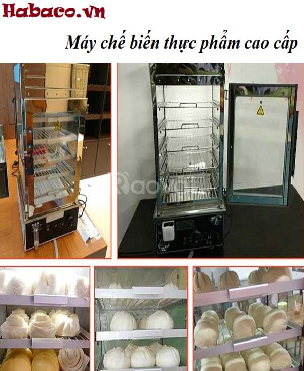 Tủ hấp bánh bao 5 khay hàng công ty