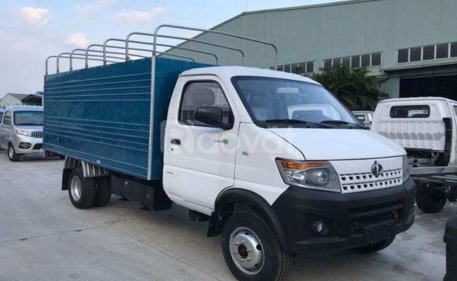 Xe tải giá rẻ - thùng kín 2m8 - giao xe tận nhà