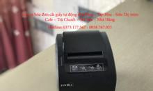 Bán máy in hóa đơn cho shop quàn cafe tại Cần Thơ