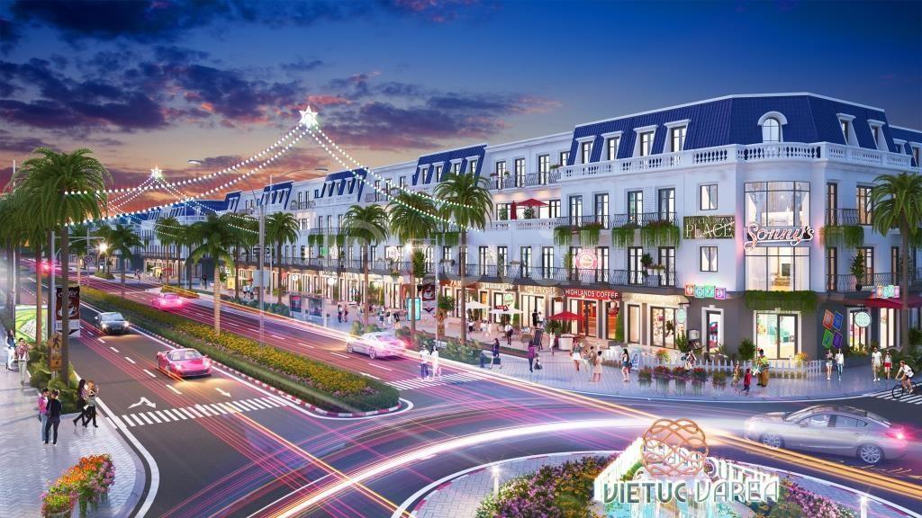 Cơ hội sở hữu nền phố khu đô thị Việt Úc Varea Bến Lức