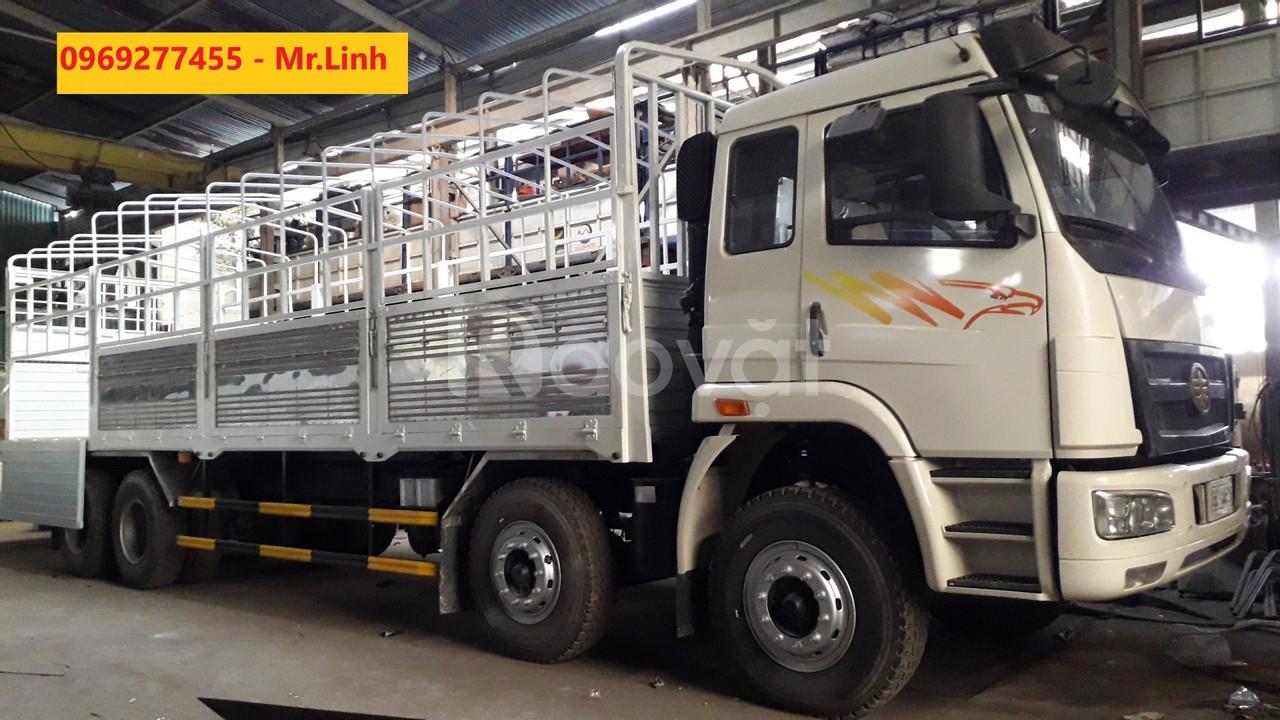 Mua xe tải Faw 4 chân 17.9 tấn thùng 9.7M giá 1 tỷ