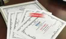 In giấy khen thưởng, in bằng khen, báo giá in giấy khen