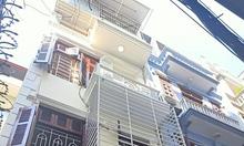 Nhà mới, đẹp, khu phân lô cán bộ, 4 tầng, 4 phòng ngủ