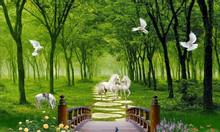 Gạch tranh phong cảnh, tranh gạch men phong cảnh sơn thủy