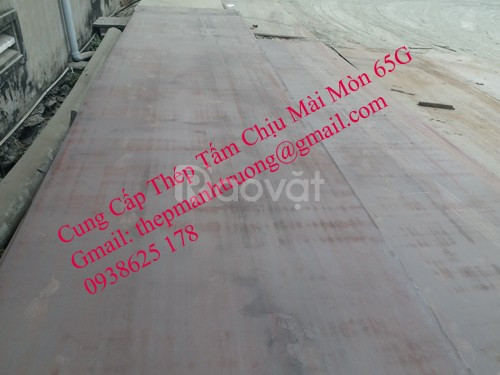 Thép tấm chịu mòn 65Mn 65Ge 12ly 14ly 16ly 18ly 20ly 22ly 25ly 30ly 40