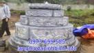 Mẫu mộ tròn bằng đá khối đẹp chất lượng cao giá rẻ  (ảnh 3)