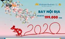 Vé máy bay tết khuyến mãi của Vietnam Airlines