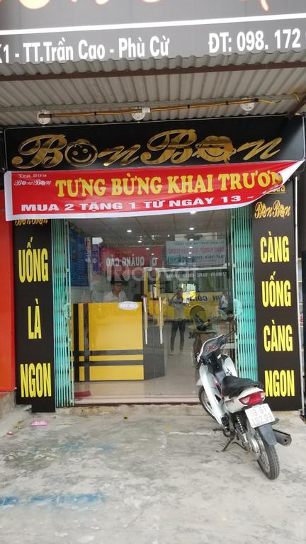 Cung cấp máy tính tiền cho quán cà phê, trà sữa tại quận Hoàng Mai