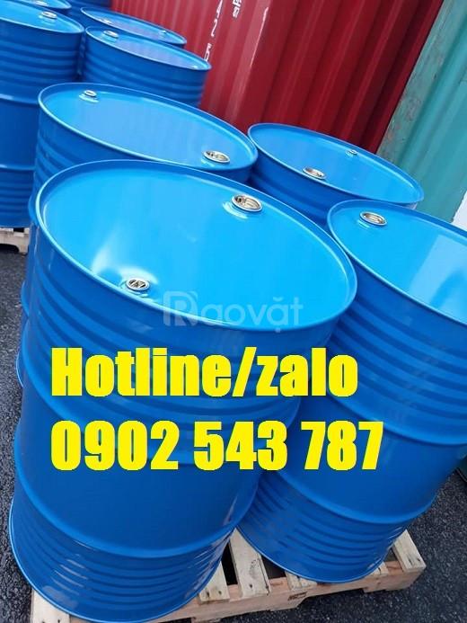 Thùng phuy hóa chất 220 lít bằng sắt; thùng phi sắt 220l mới 100%