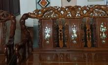 Cần thanh lý bộ bàn ghế gỗ hương