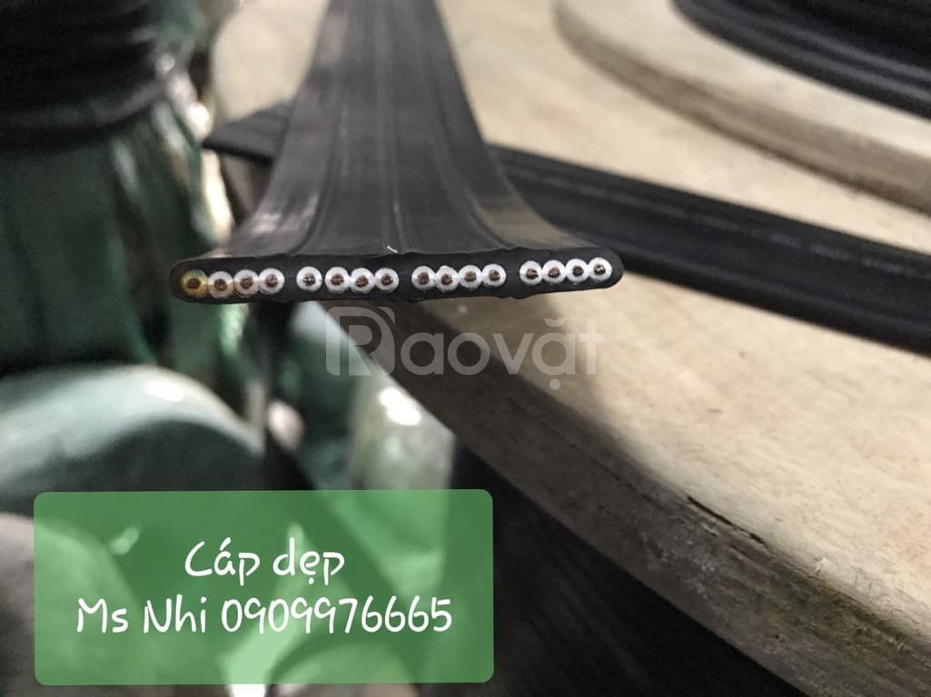 Chuyên phân phối dây cáp dẹp (dẹt) điều khiển
