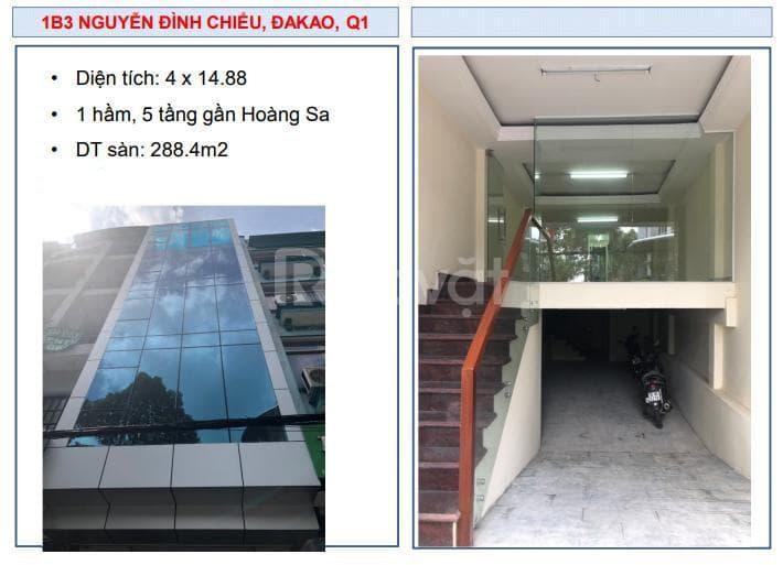 Chuyển nhượng building số 1B3 Nguyễn Đình Chiểu, P. Đakao, Q.1