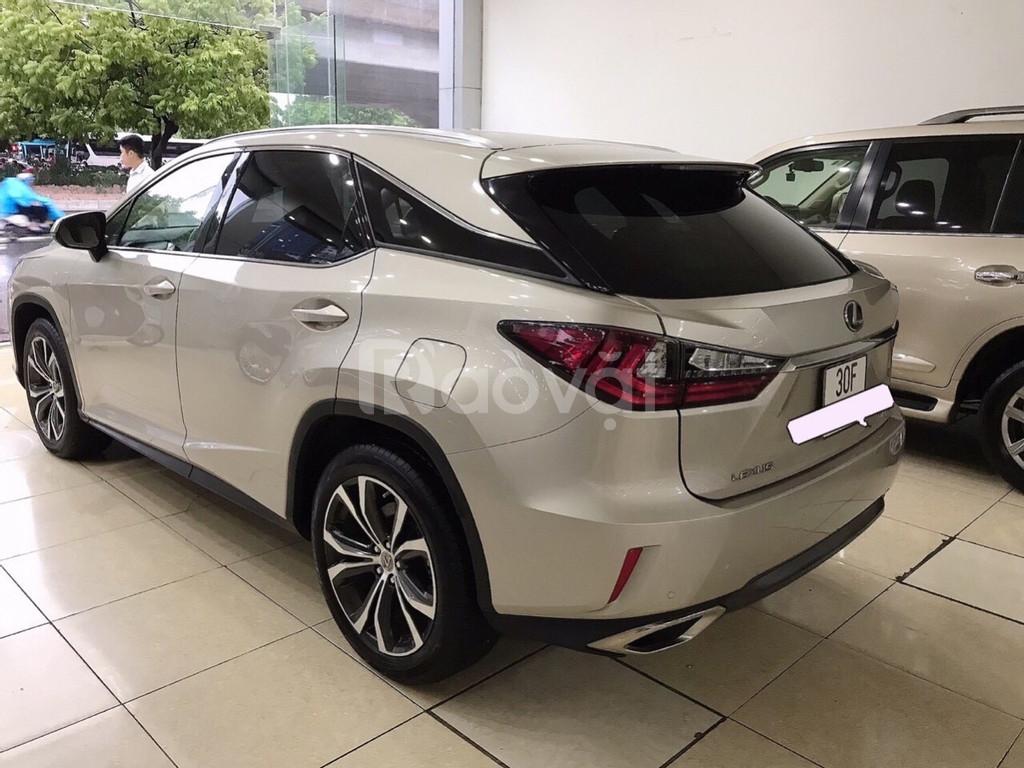Lexus RX350 sản xuất và đăng ký 2016, lăn bánh 25 000Km