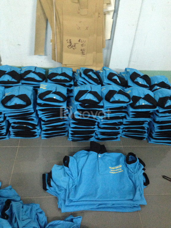 Cơ sở may áo thun đồng phục công nhân dịp cuối năm