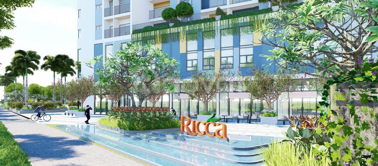 Chỉ 1,6 tỷ sở hữu ngay căn hộ Ricca quận 9, ưu đãi hơn đến 5% CK