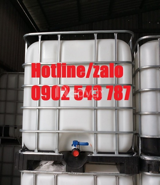 Bồn hóa chất xúc rửa 1000l, bồn nhựa xúc rửa 1000l đựng hóa chất
