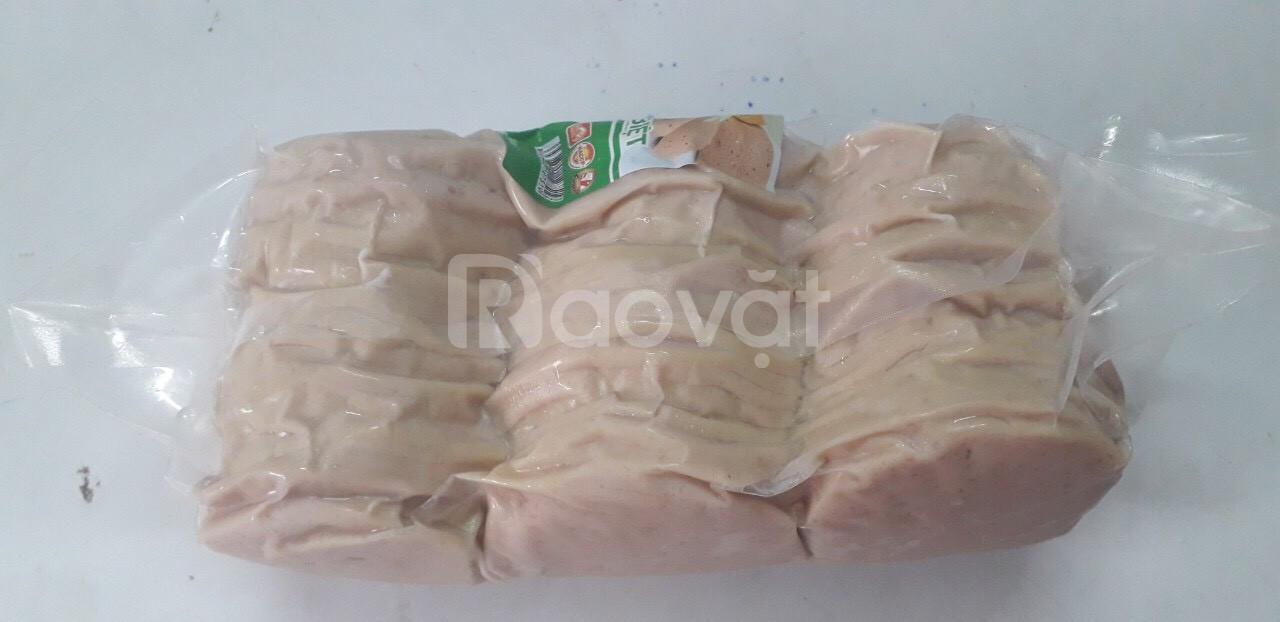Giò lụa ngon, nguyên liệu bánh mì giao tận nơi.