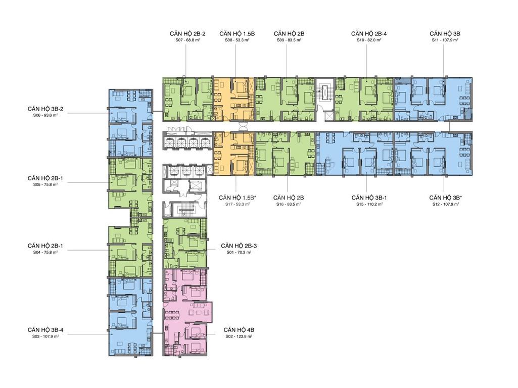 Mở bán chung cư Mipec Rubik360 chỉ từ 3.2tỷ/85m2,full nội thất cao cấp