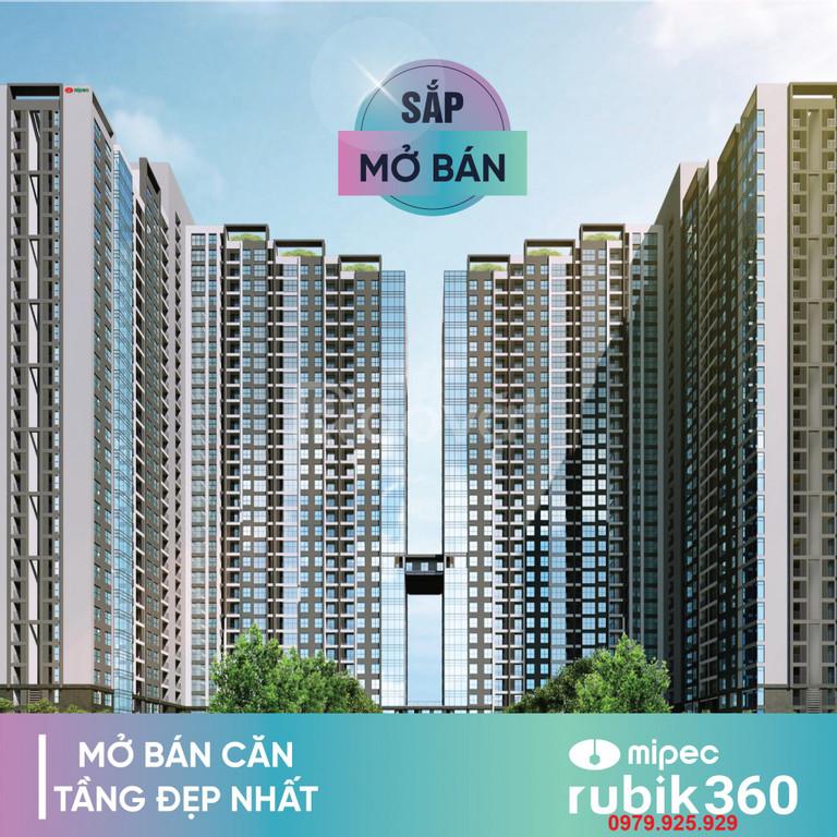 Mở bán đợt 1 chung cư Mipec Rubik360 chỉ 3.7tỷ/3PN, full nội thất