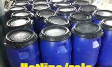 Thùng phuy nhựa hóa chất 30l; thùng phi nhựa 30l nắp hở