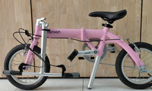 Xe đạp màu hồng cá tính
