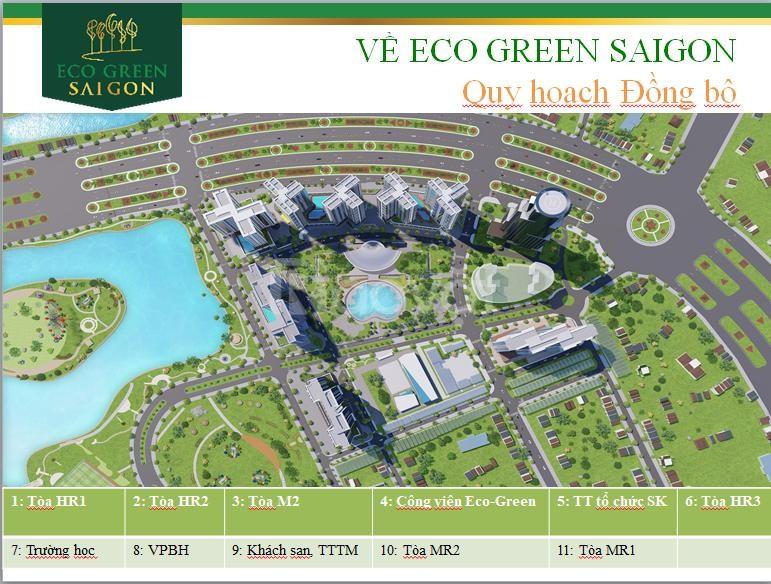 Bán căn hộ Eco Green Saigon Q7 ở ngay chỉ 47tr/m2 CK 200tr